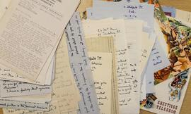 Hubert Harry: letters received